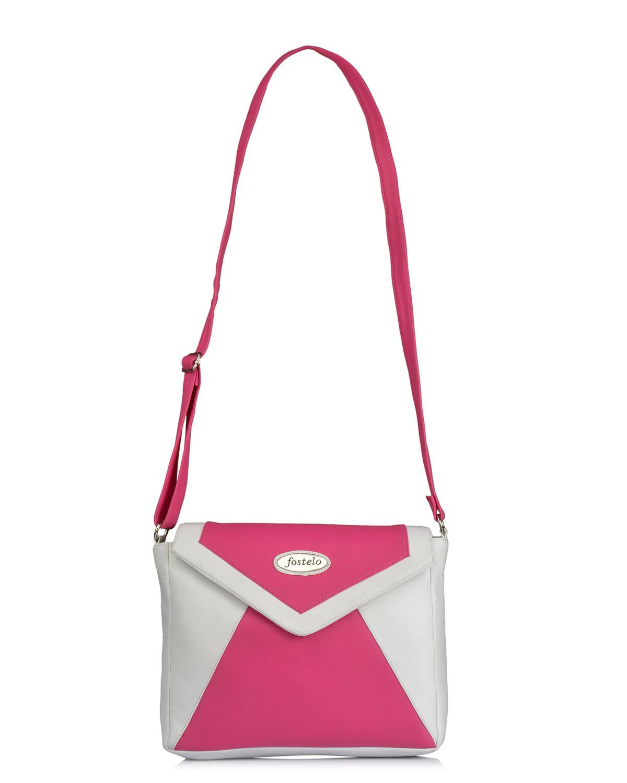 Fostelo Women S Vera Pink Crossbody Bag